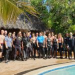 linda bahari dive point team and salesforce team